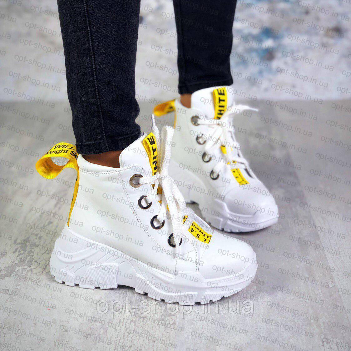 Ботинки женские на платформе