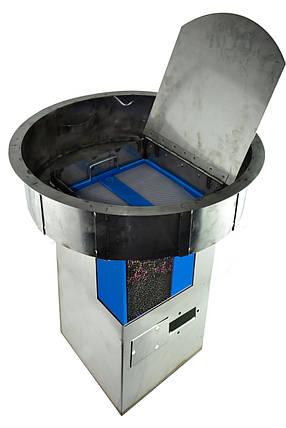 Воздушный фильтр для очистки воздуха от вредных газов с сепаратора жира Wager USA №3000 под крышку люка, фото 2