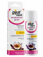 Лубрикант на водной основе с экстрактом лотоса Pjur MED Warming Glide 100 ml