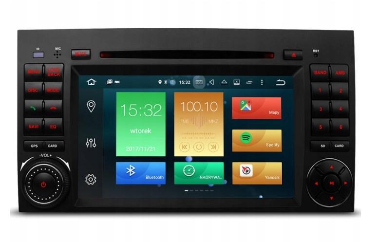 Штатная магнитола 2DIN Android 9 для Mercedes / Vito / Viano / Sprinter / Crafter Wi-fi 16Gb/2Gb