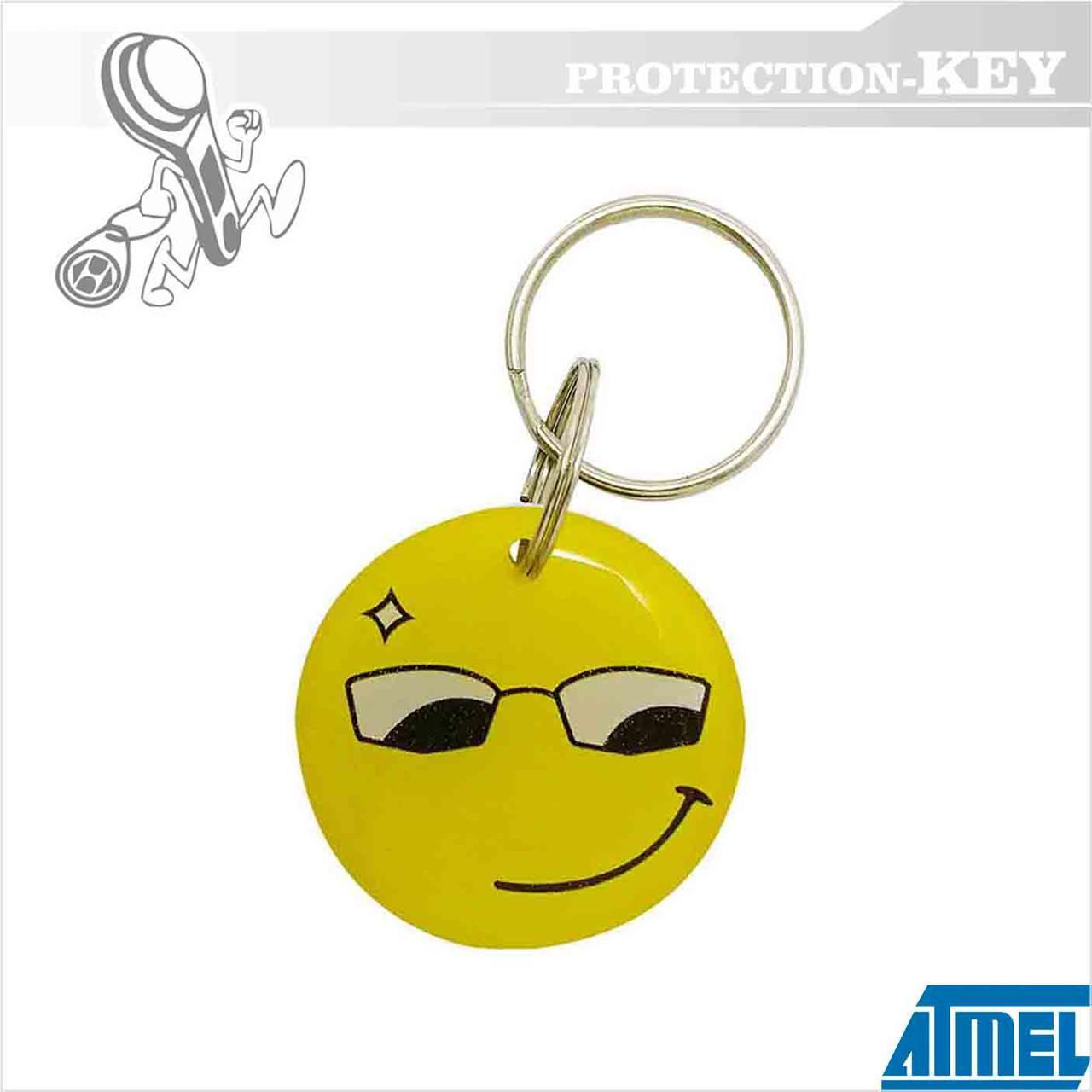 Epoxy-заготовка T5577 Smile Ø30 для копирования домофонных ключей и оригинальных RFID