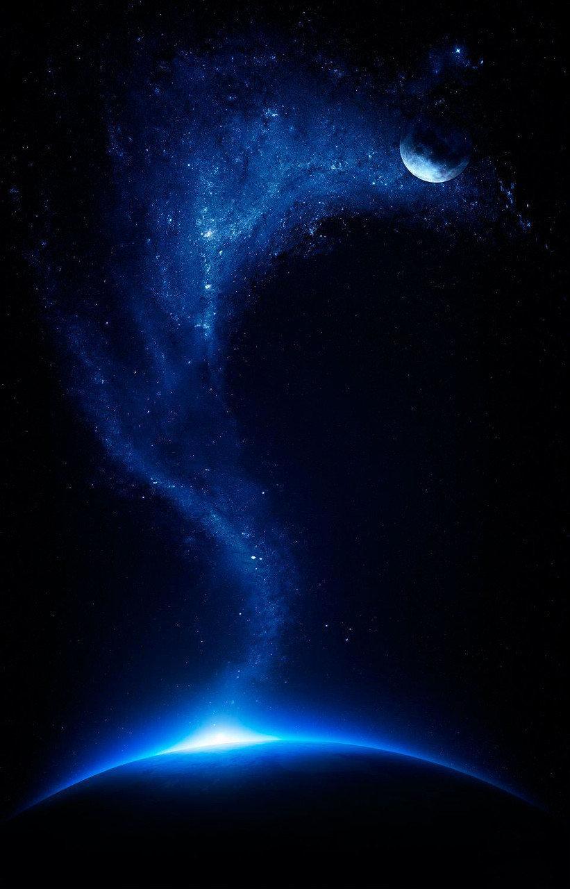 Купить Обогреватель-картина инфракрасный настенный ТРИО 400W 114 х 57 см, космос, Трио