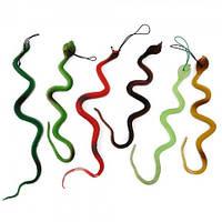 Резиновая змея 35см