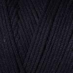 Yarnart Macrame Cotton №750 черный