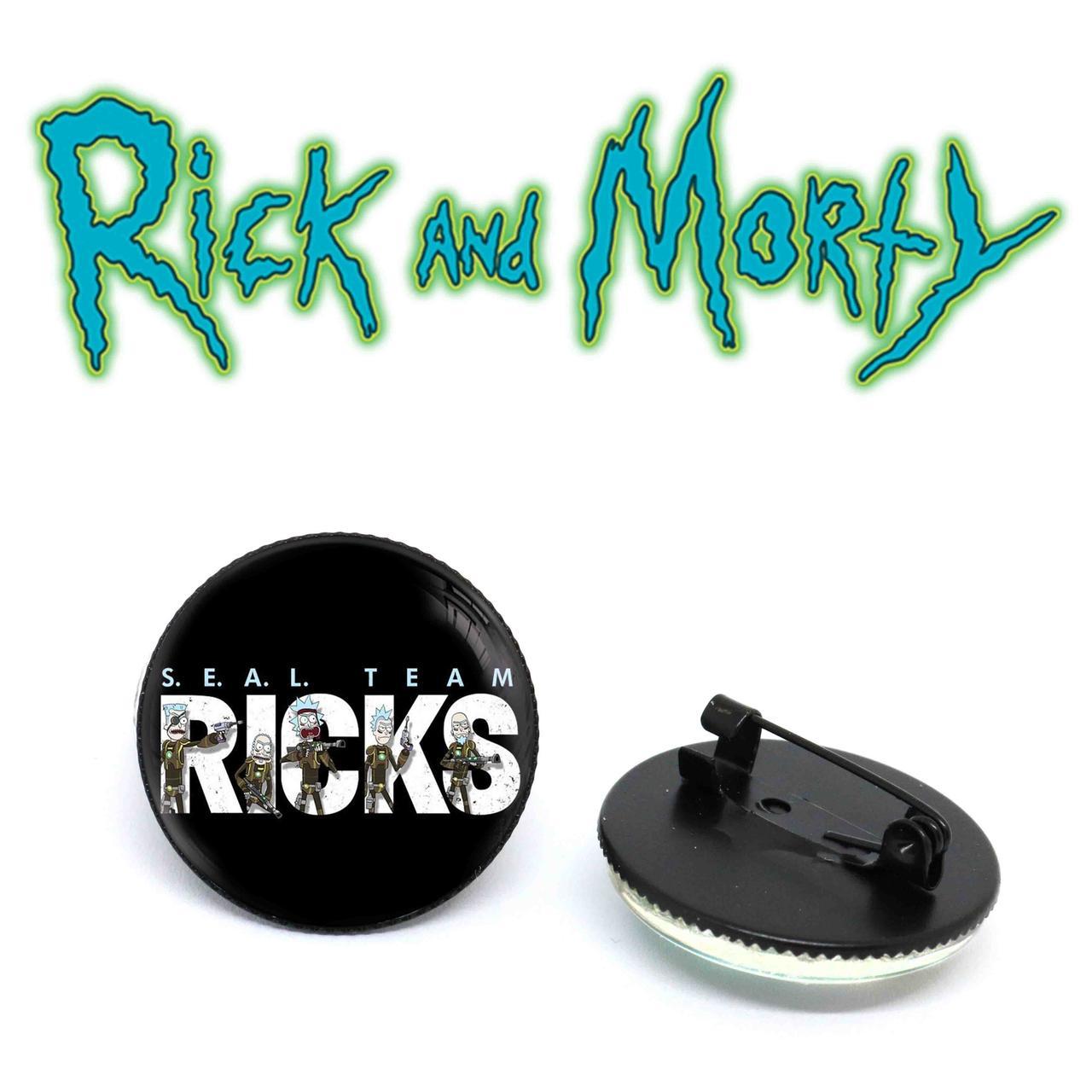 Значок S.E.A.L. team RICKS Рик и Морти / Rick and Morty
