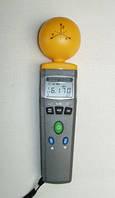 Гауссметр TES-92, измеряет уровень радиоизлучения/электромагнитного поля, с 3хканальным датчиком, ЖК-экран