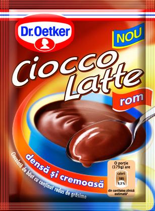 Гарячий шоколад Dr.Oetker 25г зі смаком рому