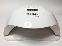 UV LED Sun X 54 Вт  Мощная Светодиодная лампа для сушки ногтей для маникюра и педикюра Белая
