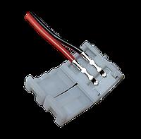 Кабель коннектор SMD лента-провод 8мм(mono) LEFT с проводом 15 см (20929)