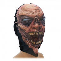 Маска чулок Зомби коричневый