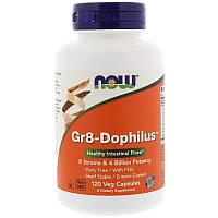 """Комплекс пробиотиков NOW Foods """"Gr8-Dophilus"""" (120 капсул)"""