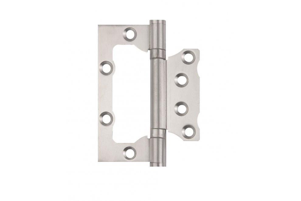 Петля дверная накладная УСИЛЕННАЯ SIBA 100 мм, нержавеющая сталь SS