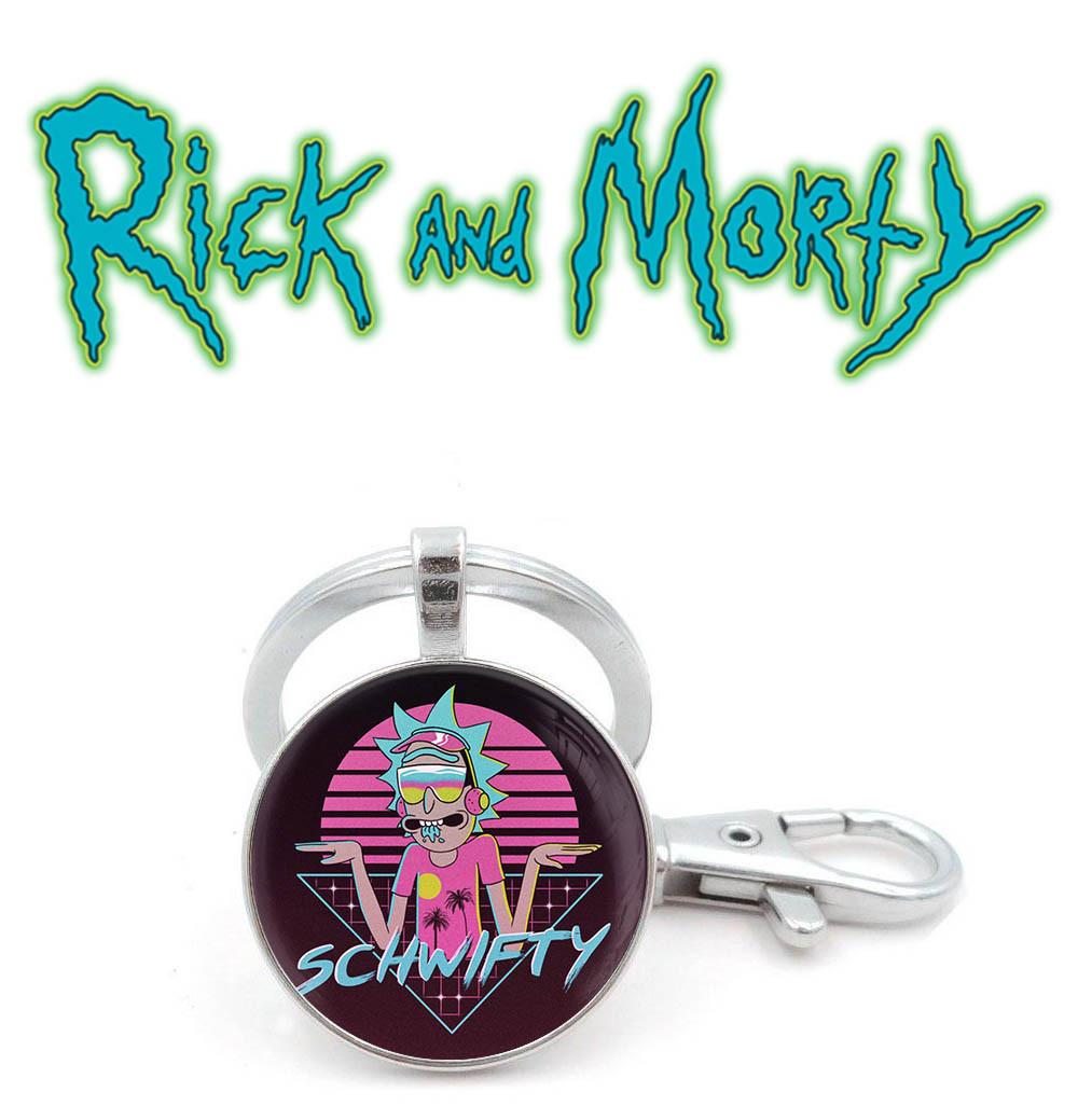 Брелок Рик SCHWIFTY Рик и Морти / Rick and Morty