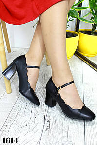 """Туфли """" Милла """"  Черные."""