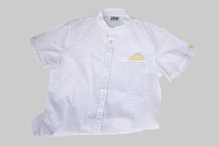 Детская нарядная рубашка для мальчика iDO Италия 4.Q405 белая
