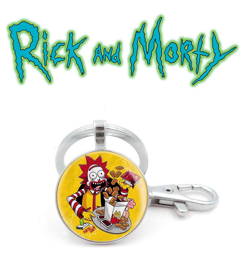 Брелок Рик Рик и Морти  mcdonalds  / Rick and Morty