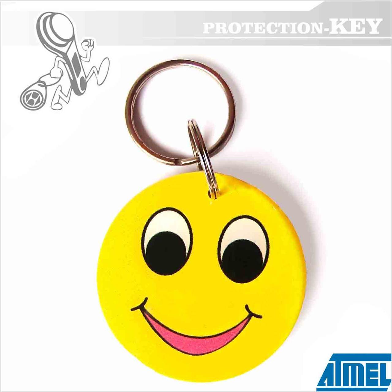 Epoxy-заготовка Т5577 Smile Ø35 для копирования домофонных ключей и оригинальных RFID