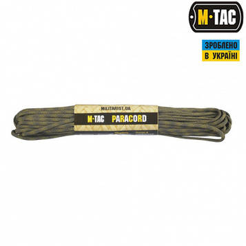 M-TAC ПАРАКОРД 550 TYPE III GREEN/FOREST 15М