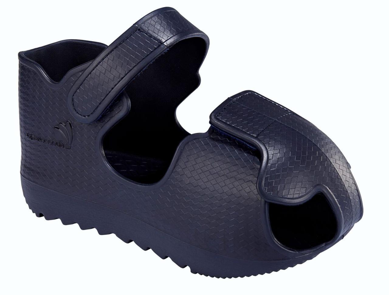 Обувь для хождения в гипсе Qmed Maxi Armor KM-39, цвет темно-синий, размер s