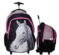 Рюкзак школьный на колесах PASO