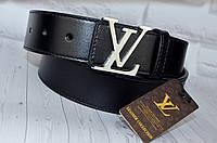 Кожаный ремень в стиле Louis Vuitton (Луи Витон) унисекс