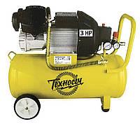 Компрессор 2 цилиндра, 50л, 360л/мин, 8 Атм  КП2-50М, ТЕХНОСІЧ (36-084)