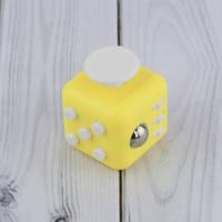 Кубик антистресс Fidget Cube (желтый)