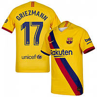 Футбольная форма Барселона Гризманн (fc Barcelona Griezmann) 2019-2020 гостевая