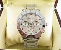Годинник Pandora Quartz 40mm Silver/Rainbow. Репліка, фото 1