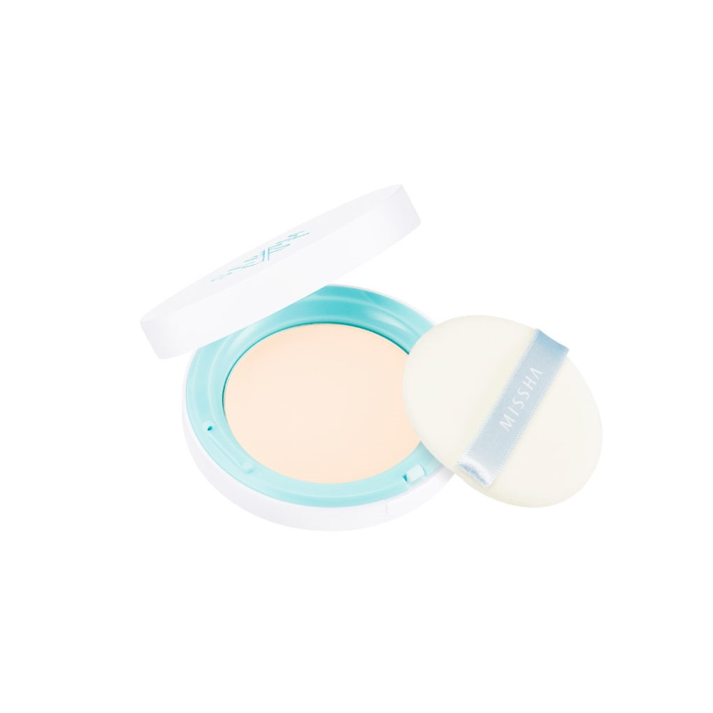 Компактная матирующая пудра Missha Sebum-Cut Powder Pact Clear Peach, 11 г (8809530046258)