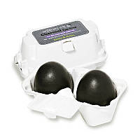Мыло для умывания лица с древесным углем Holika Holika Charcoal Egg Soap 50 г + 50 г (8806334338114)