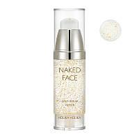 Праймер-сыворотка для сияния Holika Holika Naked Face Gold Serum Primer 35 мл (8806334379780)