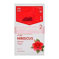 """Чайная маска для лица """"Гибискус"""" для повышения эластичности кожи Holika Holika Tea Bag Mask Hibiscus 27 мл (8806334380502)"""