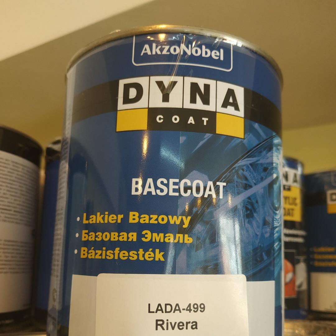 Базовая эмаль Dyna Сoat BC LADA 499 0.75л