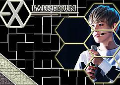 Картина GeekLandЭКЗО Мusic Exo Band 60 х 40 см  exo.03.05 Пэкхён