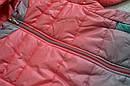 Детская демисезонная куртка для девочки (цвет омбре) (Венгрия), фото 3