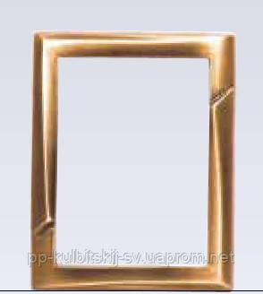Бронзова рамка для фотокераміки Vezzani 40124/13*18