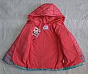 Детская демисезонная куртка для девочки (цвет омбре) (Венгрия), фото 5