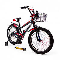 """Детский велосипед """"HAMMER-20"""" S700 20д. Черно-Красный, фото 1"""