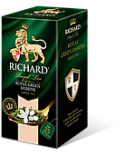 Чай зеленый пакетированный с жасмином Richard Green Jasmine (Ричард), 25 сашетов