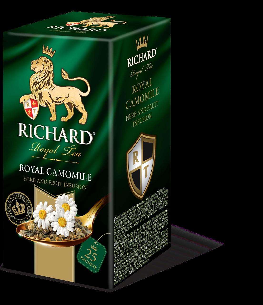 Чай зеленый с ромашкой  Richard Royal Camomile 25 пакетиков