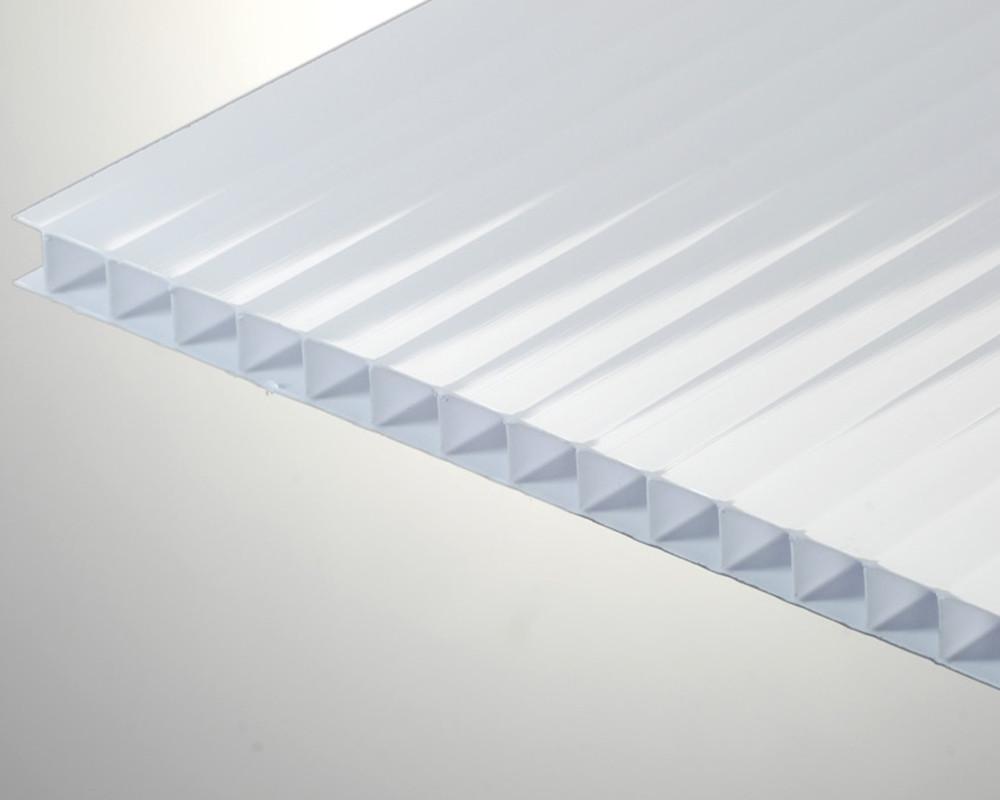 Сотовый поликарбонат ТМ Oscar 8мм опал (белый) 2100х6000мм