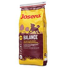 Сухой корм Josera Balance для пожилых и малоактивных собак 15 кг