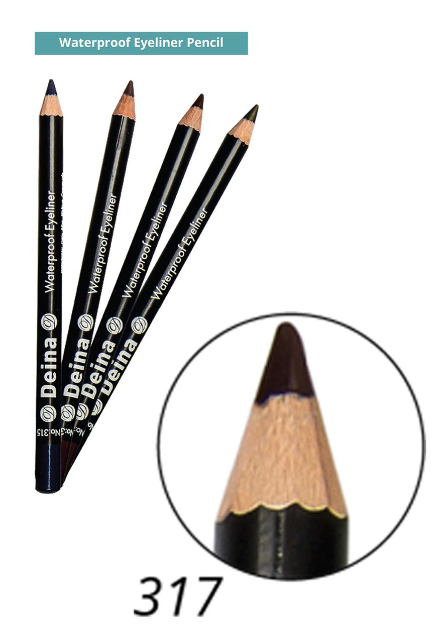 Водостойкий карандаш для глаз - Waterproof Eyeliner Pencil Deina