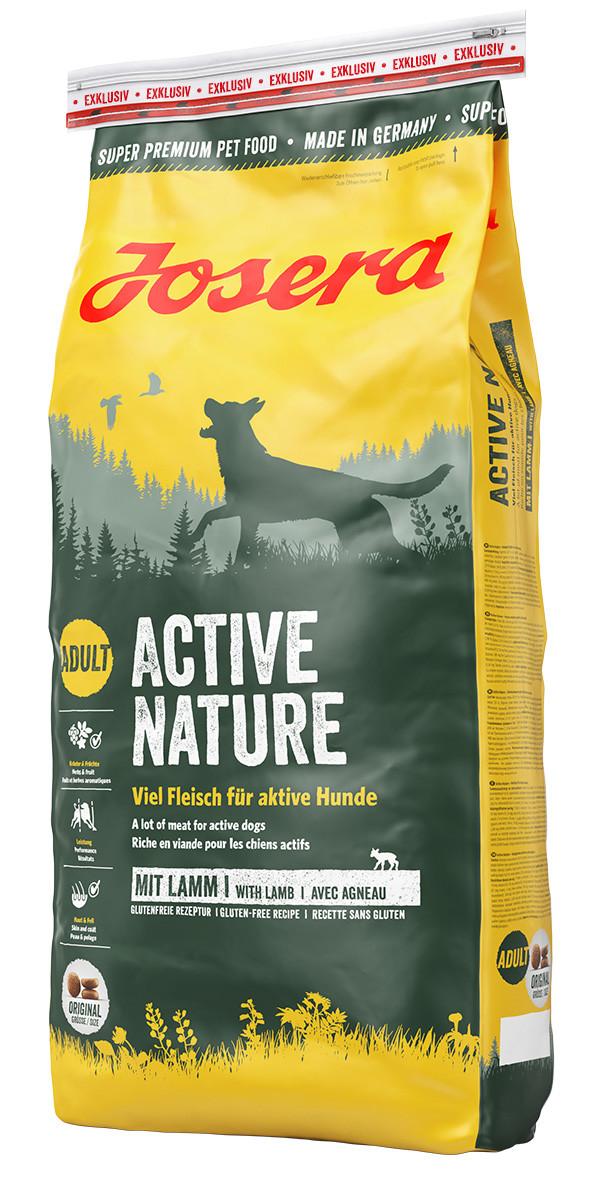 Сухой корм Josera Active Nature для активных собак с двумя видами мяса и травами 15 кг