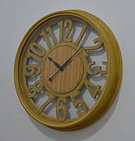 """Настенные часы """"Antiquity mustard"""" (44 см.), фото 1"""