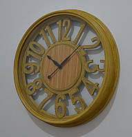 "Настінний годинник ""Antiquity mustard"" (44 см.), фото 1"