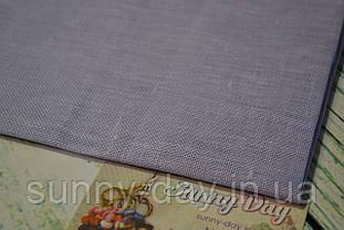 Тканина рівномірного плетіння Permin 076/322 Peaceful Purple, 28 каунт