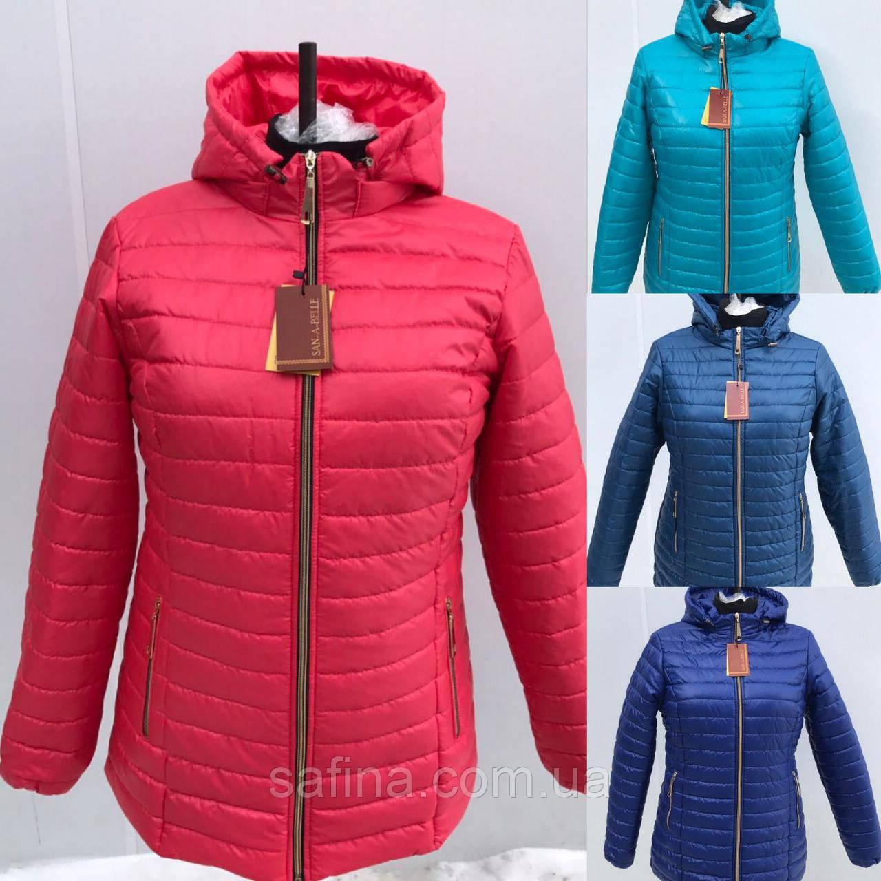 Женская курточка больших размеров до 70 размера