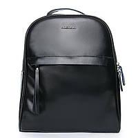 Рюкзак женский кожаный черны ALEX RAI 08-2 8694-2 black, фото 1
